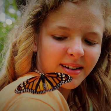 Taken at the Butterfly Release for Hospice