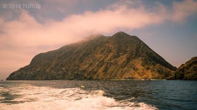 Misty Anacapa Island