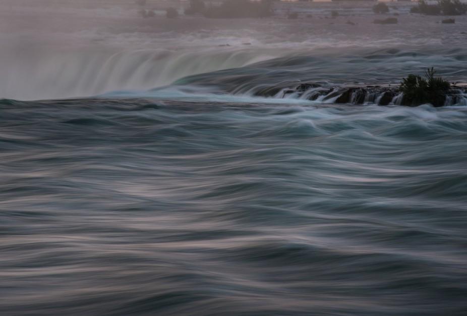 Top Of The Falls - Niagara