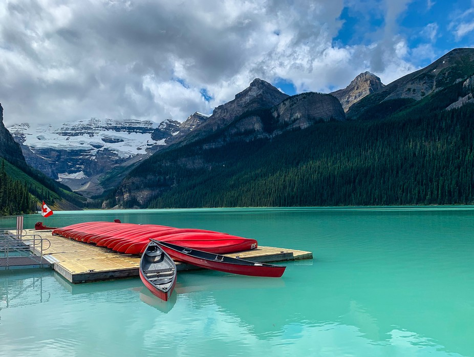 Lake Louise in Banff National Park, Canada.