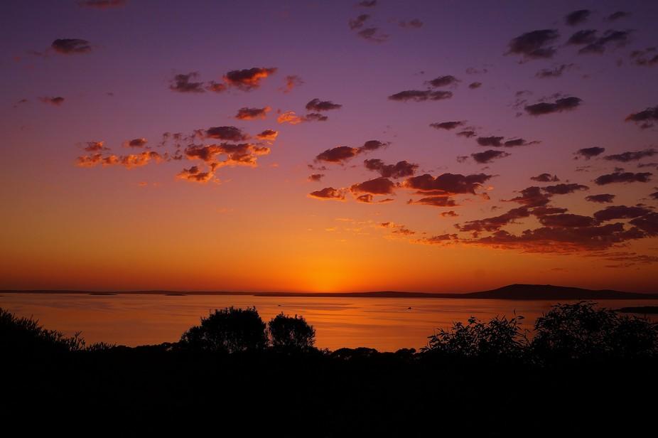 We have the most amazing sunrises on the Eyre Peninsula South Australia