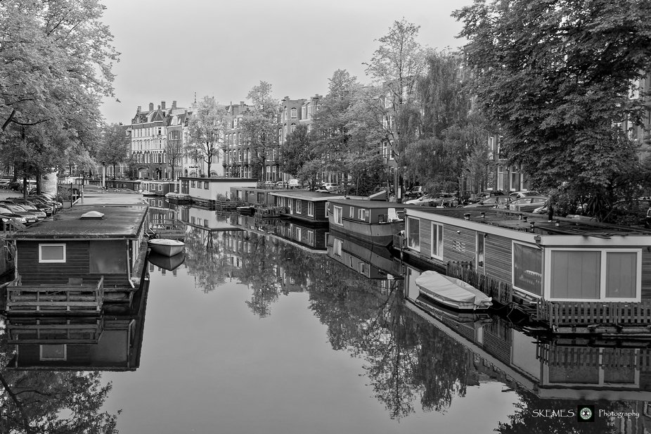 Reflections of Life on the Canal