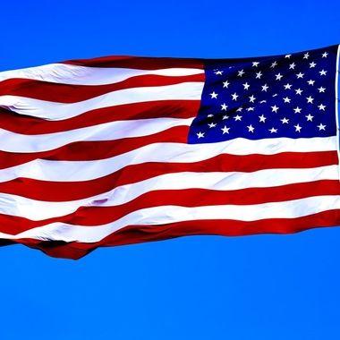 Flag of the USA NW