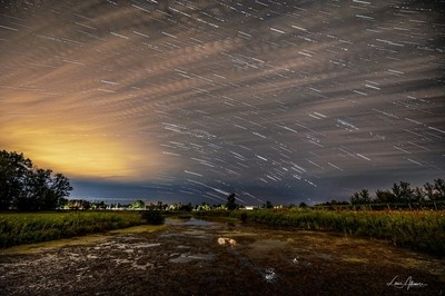 Stars and Clouds Over the Welland