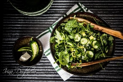 """50 Shades of Green"" Salad"