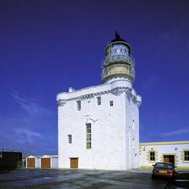 Kinaird head castle including the lighthouse