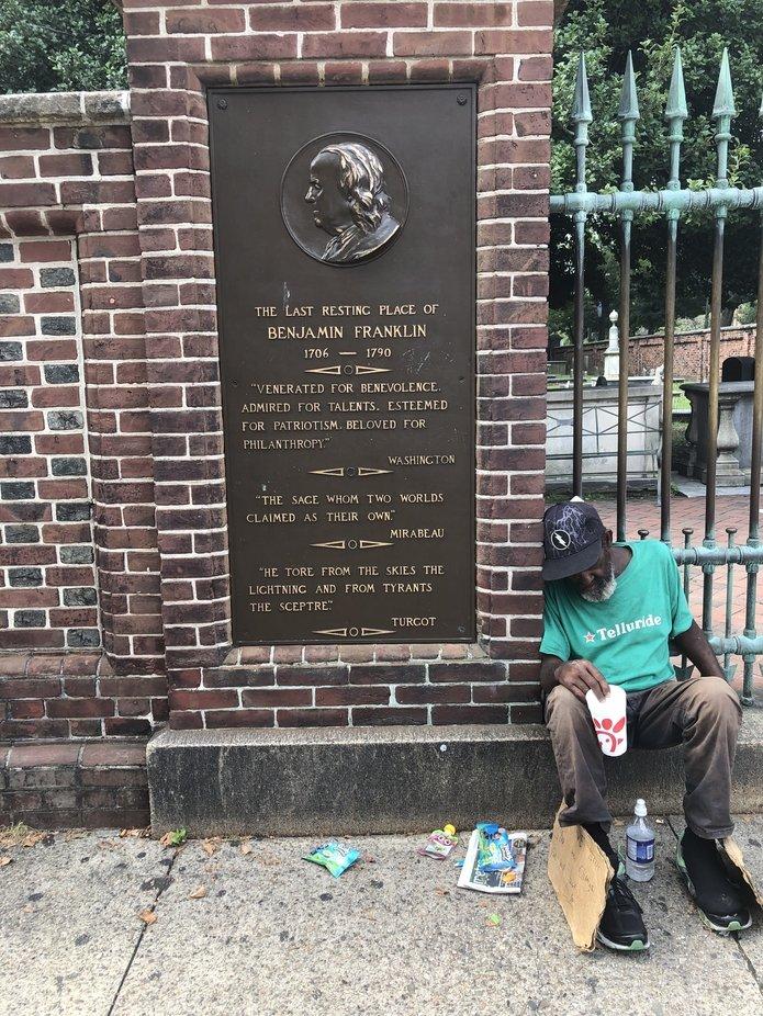 Benjamin Franklin's Tomb Philadelphia