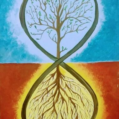 Infinity Yin yang Tree