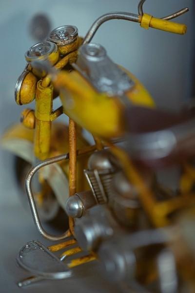 Vintage miniature motorbike