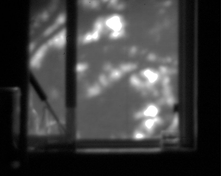 Image shot with a home-made pinhole camera attachment on my old Pentax *ist DS.
