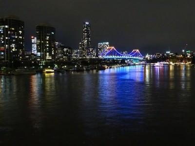 River city at Night.