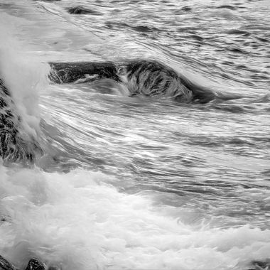 Troubled Waters (Black And White)
