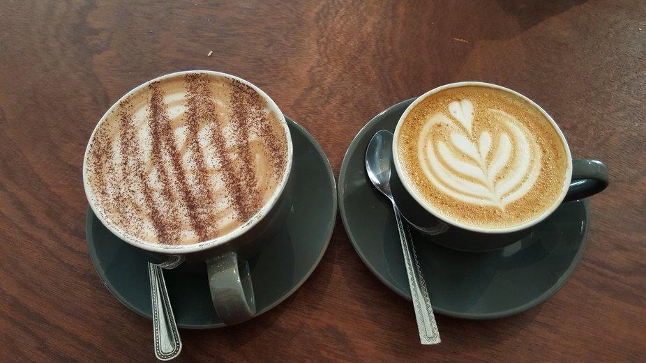 Amazing coffee,Greyseal.