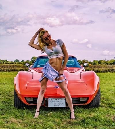 Lil Red Corvette