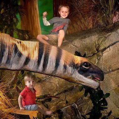 {Jax & Nico) Dinosaur Afternoon