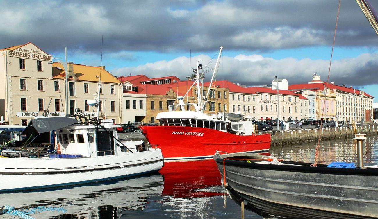 fishing boat Hobart harbour