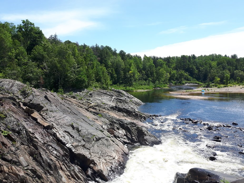Seven Sisters Rapids Chutes Provincial Park Maxwell Ontario