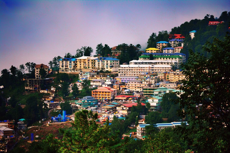 Murree Old city