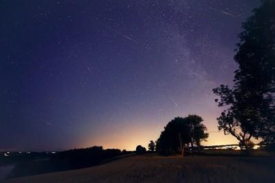 under stars in norway