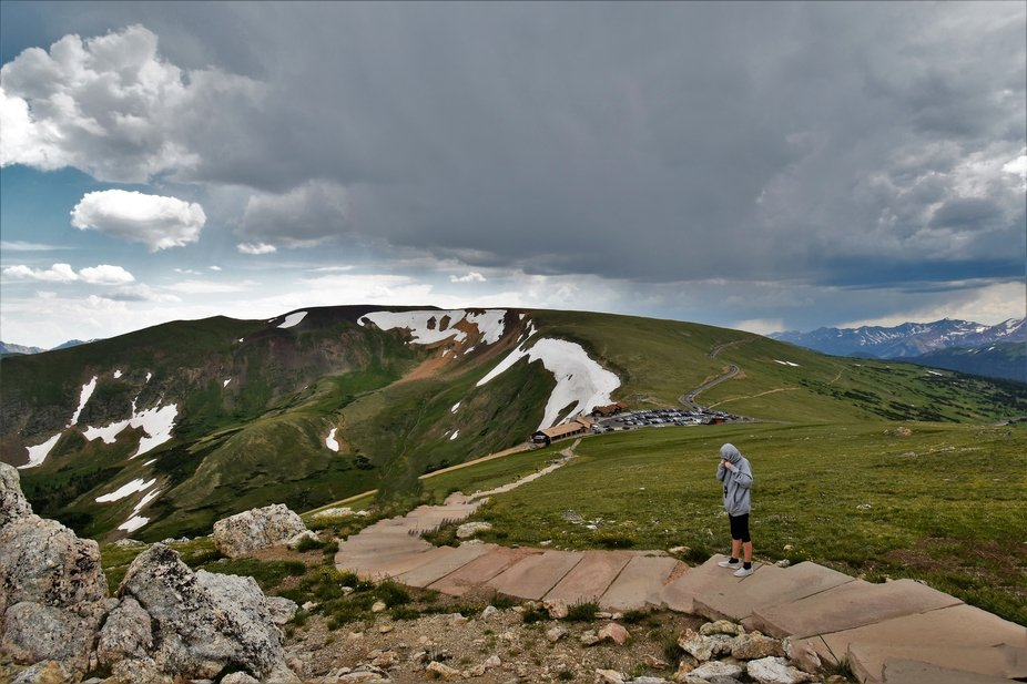 Trail Ridge Road, RMNP Colorado, Is the highest paved road in the United States, right around 12&...