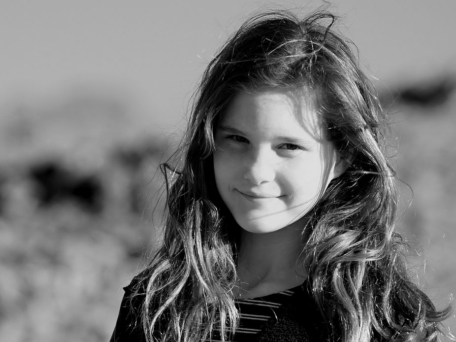 Wandering around old ruins near an outback pub and thought this shot of our friends 10y/o daughte...