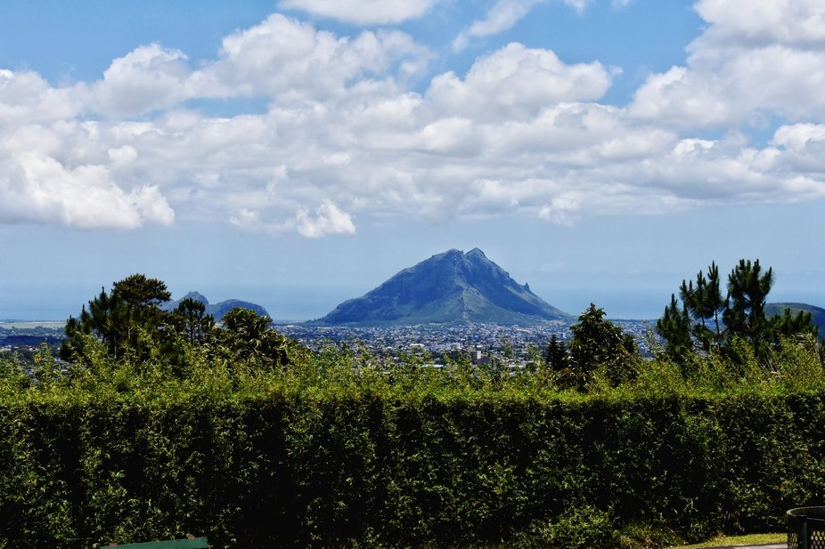 This is from my trip to Mauritius. This view can be seen near the Trou aux Cerfs. This exactly op...