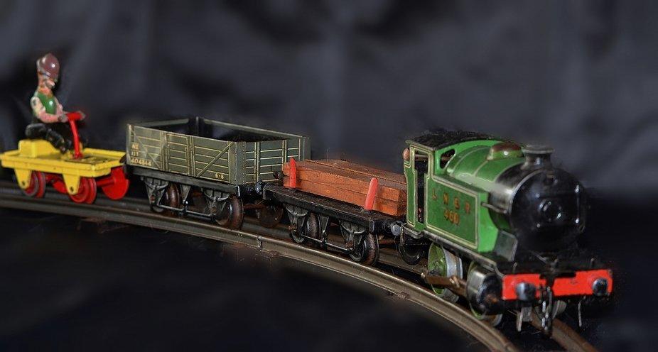 Vintage 1950's Hornby Train Set