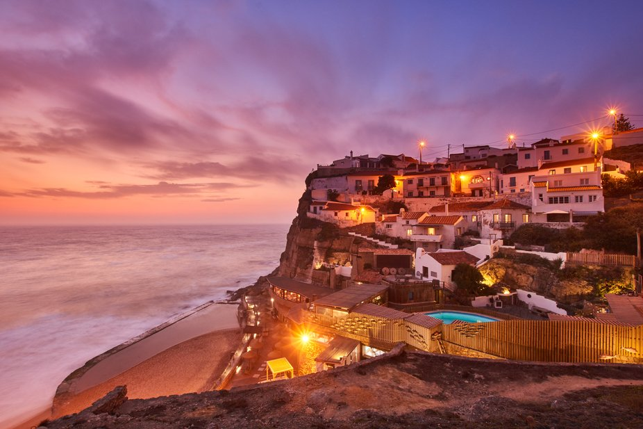 Last week I decided to go to Azenhas do Mar after work for some photos.  Upon arriving, I thought...