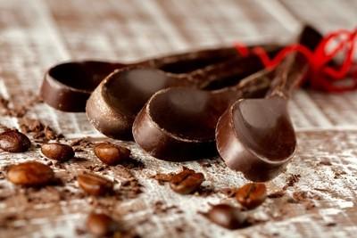 Spoon, chocolate, stilllife, food, sweets, food,