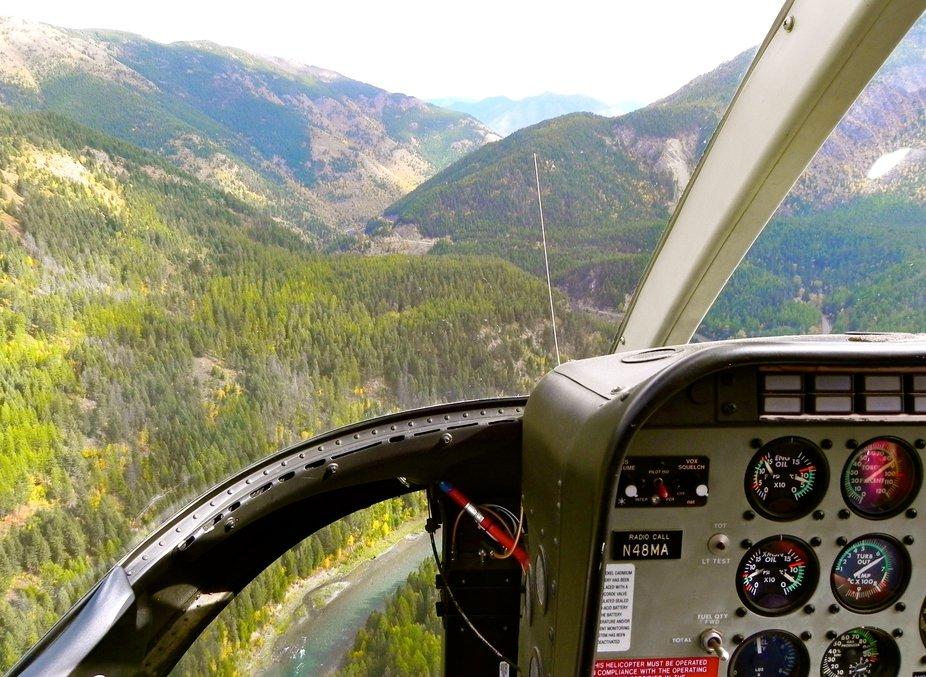 one fantastic hour ride into Glacier National Park