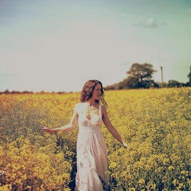 The beautiful Jai in the sunny fields of Elvetham.