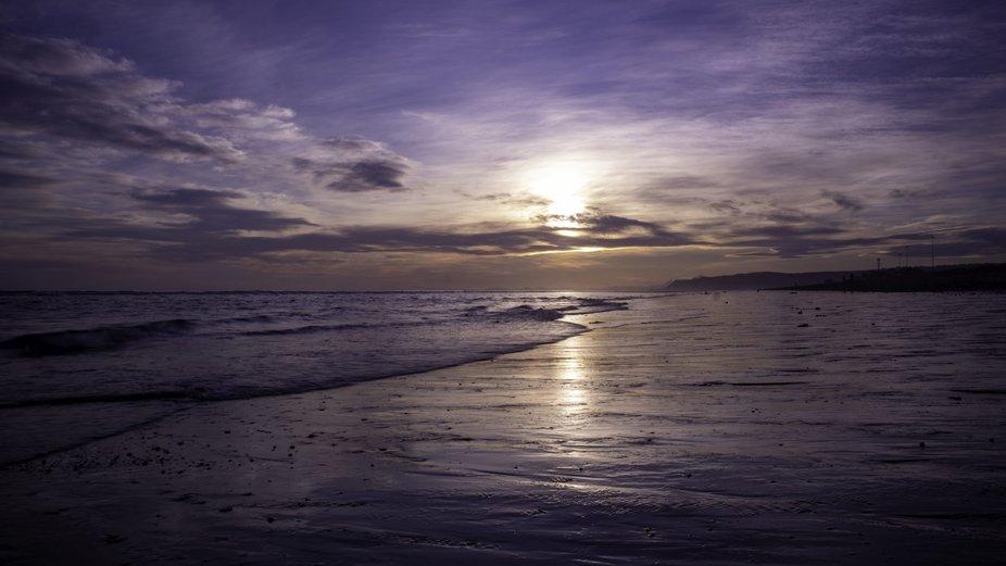 Sunset in Homer, AK