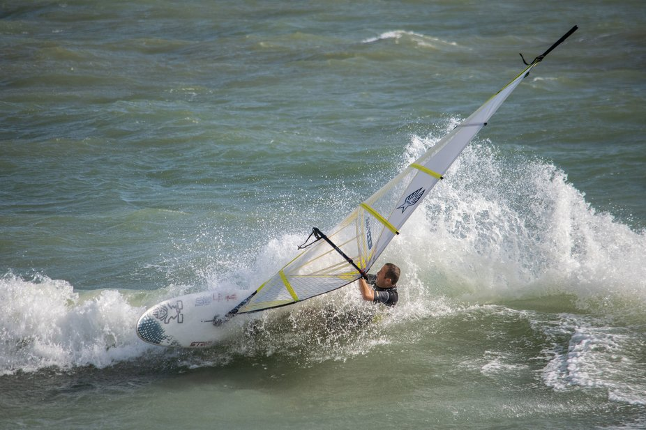 Sailboarding in the Solent