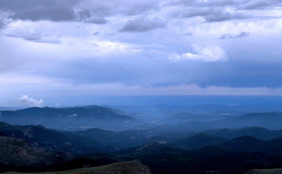 Drive to Mt. Evans, Colorado