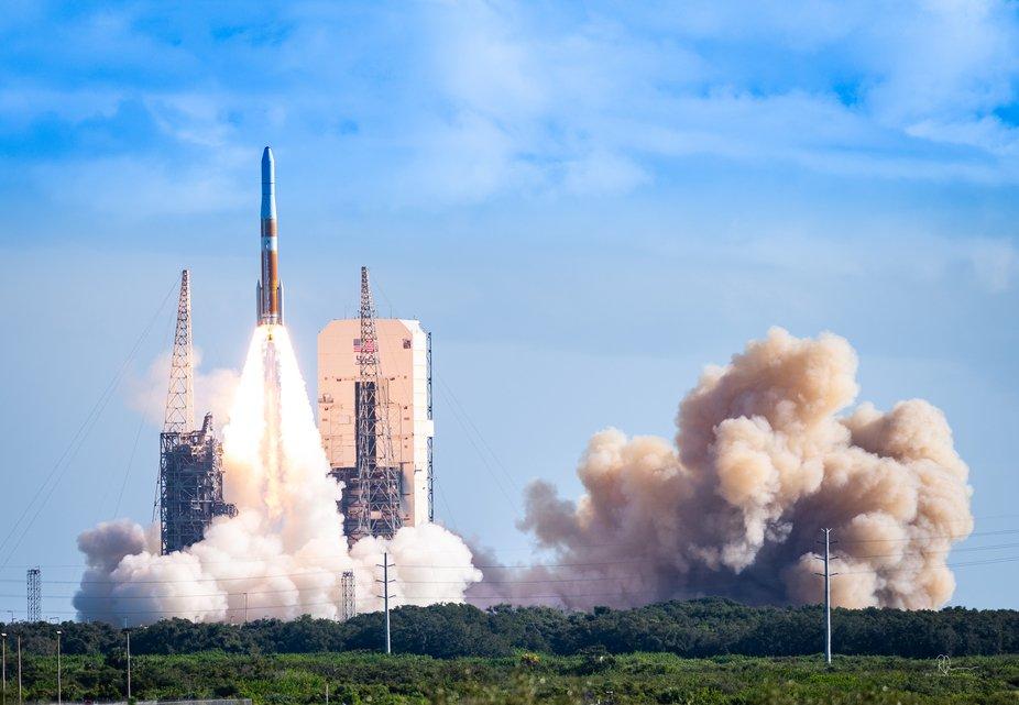ULA (United Launch Alliance) Delta IV launch 082219