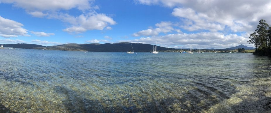 Devon, Bay, Afternoon.
