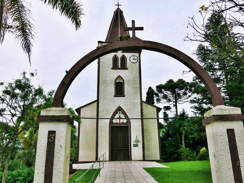 Morro Redondo's lutheran church