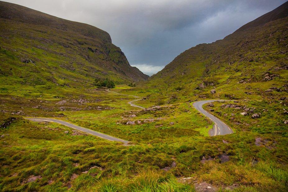Picture taken in Ireland between Waterville and Killarney.
