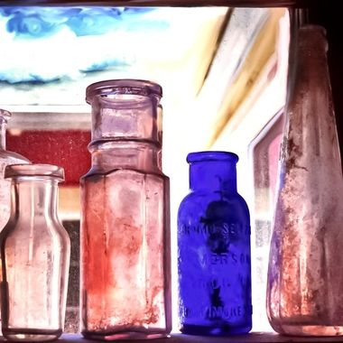 Antique Bottles at FLW NW
