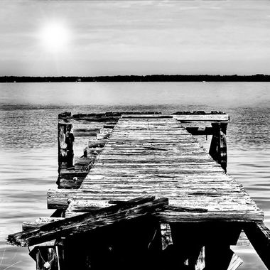 Old Dock at Lake Monroe NW