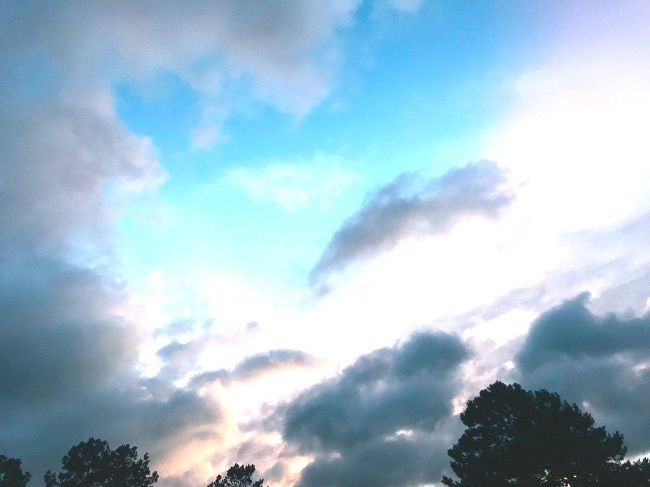 Hurrican clouds