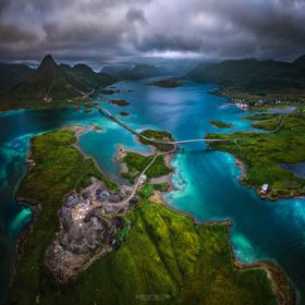 I finally made it up to the Lofoten Islands and explored some more of Norway in the last week. We didn't get the greatest weather conditions an...