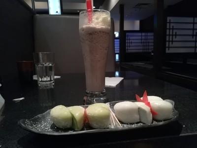 Oreo Smoothie & Mochi Ice-cream