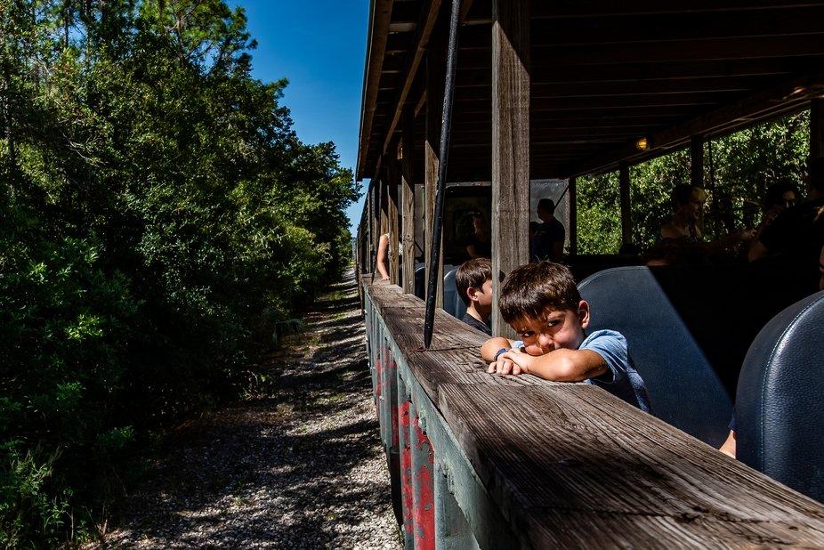 A short train ride in Parrish Florida.