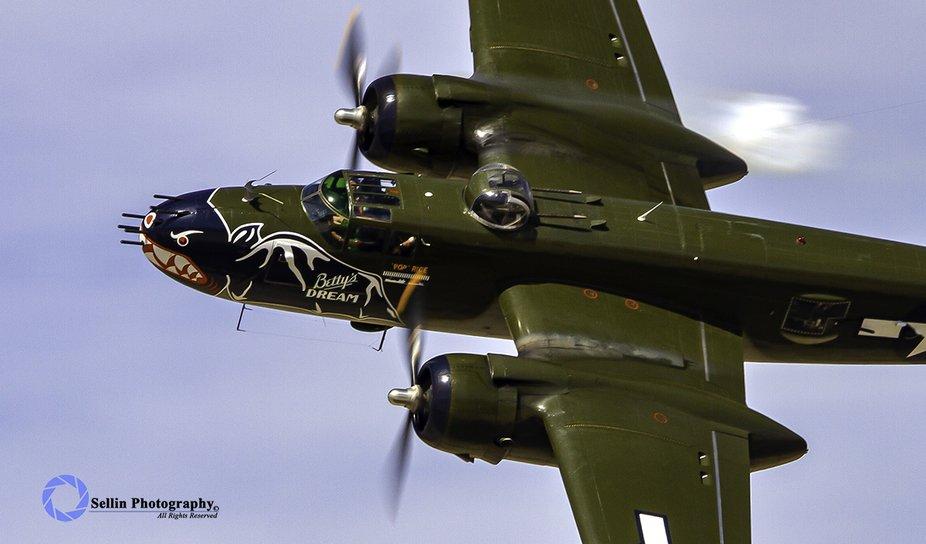 """Betty's Dream"" North American B-25 Mitchell ""Betty'..."