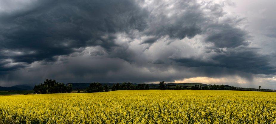 Tempest. - huge storm in bozeman, MT.