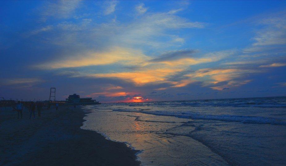 Sunset...... Beach.... Port Said.... Egypt