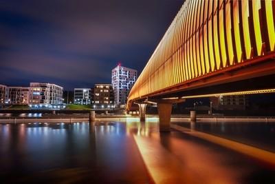 Jason Tiilikainen - Joensuu Night Citysscape