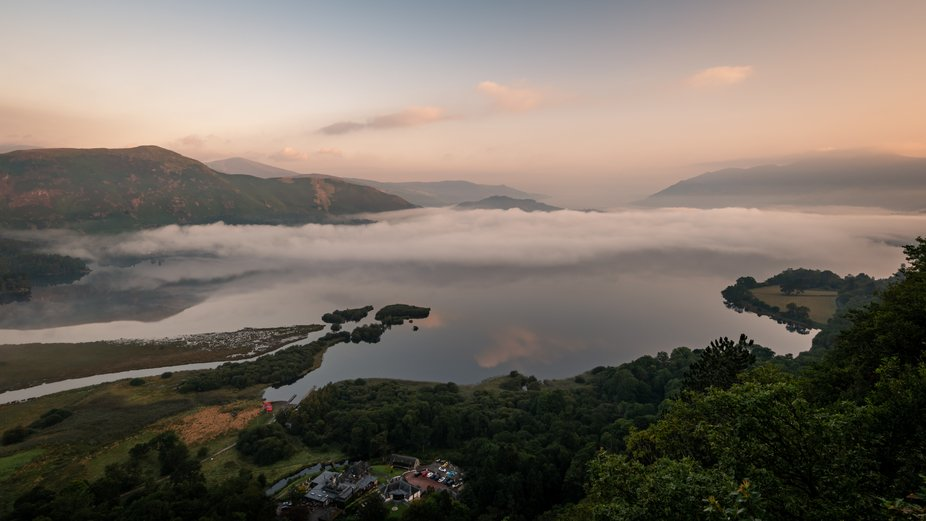 Surprise View    Monday morning was great for the early riser and photographer. Plenty of mist, f...