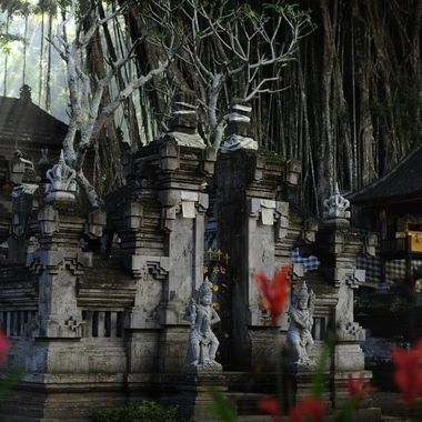 Kehen Temple in the Morning Light